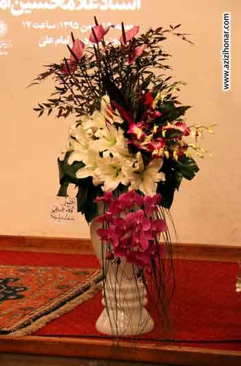 بیستمین ویژه برنامه تولدماه که با تجلیل از استاد غلامحسین امیر خانی در موزه هنرهای دینی امام علی