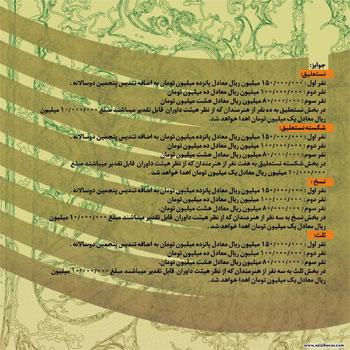 فراخوان پنجمین دوسالانه بین المللی خوشنویسی ایران بزرگداشت استاد ملک محمد قزوینی