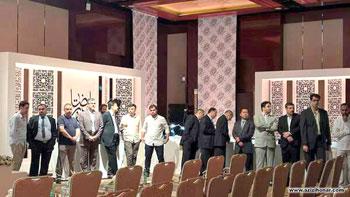 درخشش هنرمند ارجمند محسن عبادی در هشتمین دروه مسابقات بین المللی کتابت قرآن کریم در امارات متحده عربی
