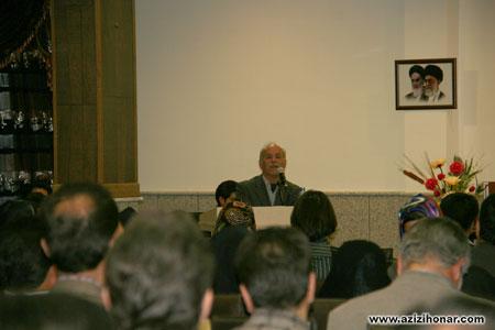 سایت آثار هنرمندان ایران/نمایشگاه آثار خوشنویسی و مراسم تجلیل از استاد یداله کابلی در خوانسار
