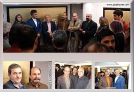 گزارش جامع و کامل از مراسم افتتاحیه نمایشگاه آثار نقاشیخط استاد احمد آریا منش با عنوان  عشق شادی است . . . در نگارخانه والی تهران به همراه تصاویر