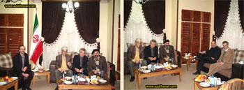 بخش دوم گزارش جامع و مصور از همایش و نمایشگاه آثار خوشنویسی قرآنی انجمن خوشنویسان استان البرز یادبود استاد بیژن توحیدی