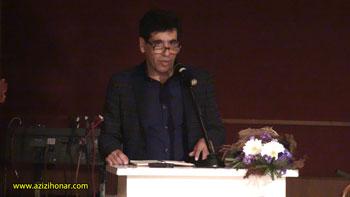 آقای علیرضا روحانی آزاد « مسئول انجمن خوشنویسان استان البرز »
