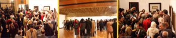 گزارش مصور از نمایشگاه خوشنویسی جمع مشتاقان در فرهنگسرای نیاوران