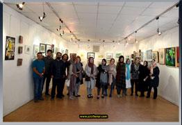 نمایشگاه بالهای بزرگ برای فرشته های کوچک در نگارخانه هنر ایران در جهت حمایت از کودکان شیر خوارگاه آمنه