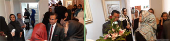 افتتاح آموزشگاه و نگارخانه استاد حسین صالحی به همراه برپایی نمایشگاه اثاری از ایشان در مشهد
