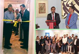 افتتاح آموزشگاه و نگارخانه استاد حسین صالحی به همراه برپایی نمایشگاه آثاری از ایشان در مشهد