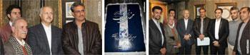 نمايشگاه آثار شكستهنويسان شيرازي در نگارخانه تار و پود با حضور چهره ی ماندگار خوشنویسی کشور استاد ید الله کابلی خوانساری و استاد اخلاق و هنر استاد محمد حیدری داير شد