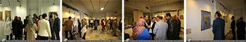 """گزارش تصویری از نمایشگاه آثار خوشنویسی استاد اخلاق و هنر استاد حسن کرمانی از استان آذربایجان شرقی با عنوان جوهر عشق در موزه رضا عباسی تهران""""آبان 1397 """""""