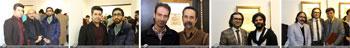 گزارش تصویری از نمایشگاه آثار خوشنویسی استاد ذبیح الله لؤلوئی مهر همراه با رونمایی از کتاب گزیده اشعار مولانا به خط شکسته نستعلیق و با همراهی هنرمند سه تار ساز انوشیروان، با عنوان مرنجان و مرنج در گالری نگاه /آذرماه1396