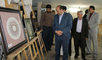 گزارش تصویری از افتتاحیه نمایشگاه آثار مدرسان و هنرجویان انجمن خوشنویسان پیشوا به همراه چند اثر از اساتید خوشنویسی کشور با موضوع حضرت علی علیه السلام