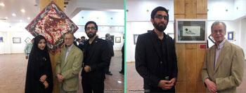 گزارش تصویری از نمایشگاه خوشنویسی و نقاشیخط اساتید و هنرمندان بسیجی با عنوان نی ناله در نگارخانه رسول مهر
