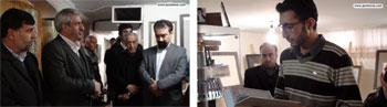 گزارش تصویری از نمایشگاه آثار خوشنویسی هنرمند ارجمند محمد جواد شکوهی فر با حضور اساتید داود نیکنام و محسن میرحسینی و مسئولان شهرستان پیشوا در انجمن خوشنویسان شهرستان پیشوا-بهمن 95