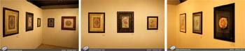 گزارش تصویری از نمایشگاه آثار نگارگری ،گل و مرغ وتذهیب استاد مهدی ایرانی بهمراه تعدادی از هنرجویان ایشان از شهرستان کاشان در فرهنگسرای نیاوران تهران-تیرماه1396