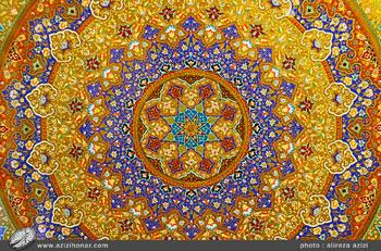 گزارش تصویری از نمایشگاه آثار نگارگری جمعی از هنرمندان کاشان در فرهنگسرای نیاوران، تیرماه1396
