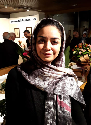 گزارش تصویری از سومین نمایشگاه انفرادی آثار خوشنویسی استاد راضیه سپهر با عنوان خط سوم در فرهنگسرای نیاوران-دیماه95