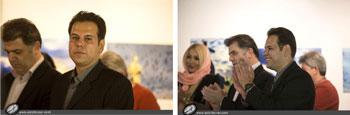 شگفتی سفیر جمهوری چک از دیدن عکس های شهباز زمان از پراگ در فرهنگسرای نیاوران تهران خرداد 1395