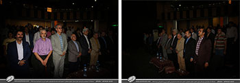 گزارش تصویری از برگزاری همایش و سخنرانی مسئولین و استادان خوشنویسی به جهت افتتاحیه نمایشگاه آثار خوشنویسی علی اصغر رسولی در شهرستان نی ریز-استان فارس-مرداد1398