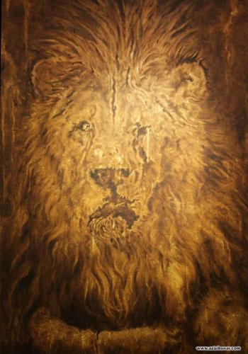 نمایشگاه گروهی کیوریتورال با عنوان آن یکی شیر در گالری شنگرف