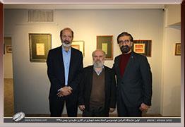 بخش دوم تصاویر مراسم افتتاحیه نمایشگاه آثار خوشنویسی استاد محمد شهبازی در گالری جاوید- بهمن98