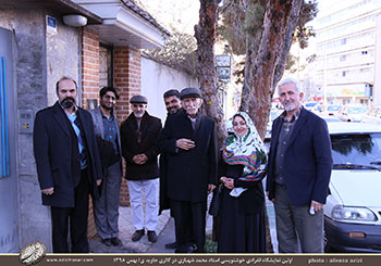 بخش اول تصاویر مراسم افتتاحیه نمایشگاه آثار خوشنویسی استاد محمد شهبازی در گالری جاوید- بهمن98