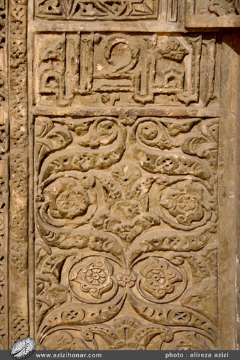 محراب ایلخانی-بخش دوم تصاویری از آثار هنری کار شده در بنای تاریخی مسجد جامع اصفهان