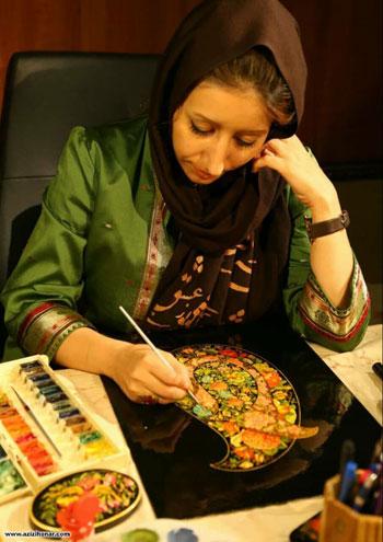 اکرم ضیایی طباطبایی - نگارگر - تهران