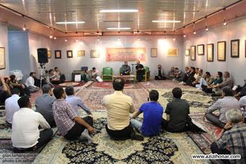 دوازدهمین سال پیاپی، آئین کتابت قرآن کریم با عنوان مشق نور با حضور یکصد نفر از خوشنویسان گیلانی در رشت برگزار شد
