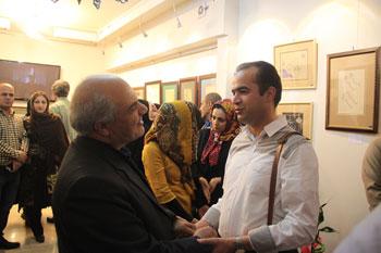 """نمایشگاه جمعی از هنرجویان خوشنویسی خط شکسته نشتعلیق استاد محمد حیدری در گالری و آموزشگاه ساقی """" تمدید مهلت بازدید از نمایشگاه """""""