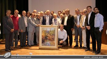 تصاویر مراسم نکوداشت استاد حبیب الله ارسلانی نقاش، خوشنویس و طراح- در استان آذربایجان غربی-ارومیه