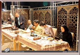 گزارش تصویری از ورک شاپ اساتید و هنرمندان خوشنویس استان اصفهان در بزرگداشت زنده یاد استاد عبدالمجید طالقانی مرداد ماه 1396