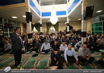 گزارش تصویری از مراسم ختم مرحوم حاج اصغر قربانی- پدر بزرگوار استاد محمد علی قربانی از اساتید صاحب نام خوشنویسی