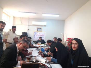 گزارش تصویری از کارگاه خوشنویسی مشق غدیر در شهرستان باغملک به مناسبت عید سعید غدیر