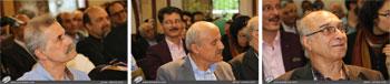 گزارش جامع تصویری از مراسم تجلیل از چهره ماندگار خط و استاد ارشد خوشنویسی ایران استاد کیخسرو خروش در فرهنگسرای اندیشه با حضور اساتید صاحب نام هنر خوشنویسی کشور