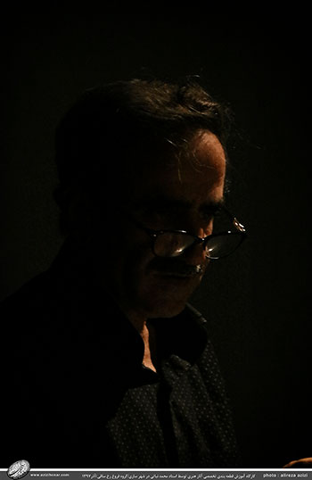 کارگاه قطعه بندی تخصصی آثار هنری با معیار و موازین بین المللی ارائه اثر توسط استاد محمد نباتی در شهر ساری/گروه فروغ رخ ساقی/آذر1397