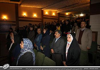 کارگاه تخصصی آموزش نکاتی پیرامون خط شکسته نستعلیق توسط استاد محمد حیدری در شهر ساری/گروه فروغ رخ ساقی/آذر1397