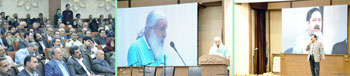 گزارش تصویری از مراسم بزرگداشت و افتتاح نگارخانه و نمایشگاه آثار چهره ماندگار خوشنویسی کشور استاد یدالله کابلی خوانساری در فرهنگسرای خانواده خوانسار