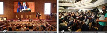 متن و تصاویر سخنرانی دکتر حجت الله ایوبی دبیرکل کمیسیون ملی یونسکو در ایران در مراسم نکوداشت استاد یدالله کابلی خوانساری در کتابخانه ی ملی جمهوری اسلامی ایران-تیر1398