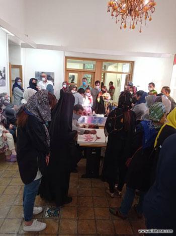 گزارش تصویری از برگزاری ورکشاپ گروهی نقاشیخط پاییز با حضور اساتید و هنرمندان در باغ موزه هنر ایرانی