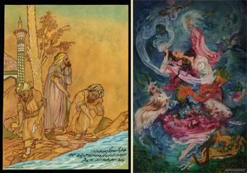 منصور عبدی / نقاش و نگارگر / بوشهر
