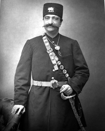 ناصر الدین شاه قاجار