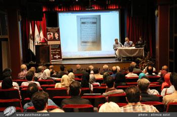 نشست تخصصی کتابت توسط استادان رسول مرادی و محمد علی قربانی در فرهنگسرای بهمن، مرداد 1396