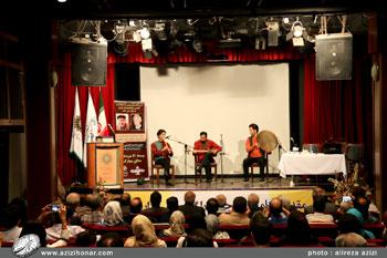مراسم تجلیل از دو پیشکسوت جامعه خوشنویسی استادان محمد سلحشور و علی راهجیری در فرهنگسرای بهمن، مرداد 1396