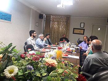 انتصاب استاد داود نیکنام به عنوان مسئول انجمن خوشنویسی و رئیس شورای عالی انجمن خوشنویسی سازمان بسیج هنرمندان کشور