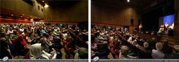 بخش سوم تصاویر نمایشگاه آثار خوشنویسی استاد اخلاق و هنر استاد محمد حیدری همراه با رونمایی از کتاب های شرح آرزومندی و از نیستان 2 در فرهنگسرای نیاوران-تیرماه1397