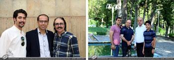 بخش اول تصاویر نمایشگاه آثار خوشنویسی استاد اخلاق و هنر استاد محمد حیدری همراه با رونمایی از کتاب های شرح آرزومندی و از نیستان 2 در فرهنگسرای نیاوران-تیرماه1397