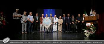 بخش چهارم تصاویر نمایشگاه آثار خوشنویسی استاد اخلاق و هنر استاد محمد حیدری همراه با رونمایی از کتاب های شرح آرزومندی و از نیستان 2 در فرهنگسرای نیاوران-تیرماه1397